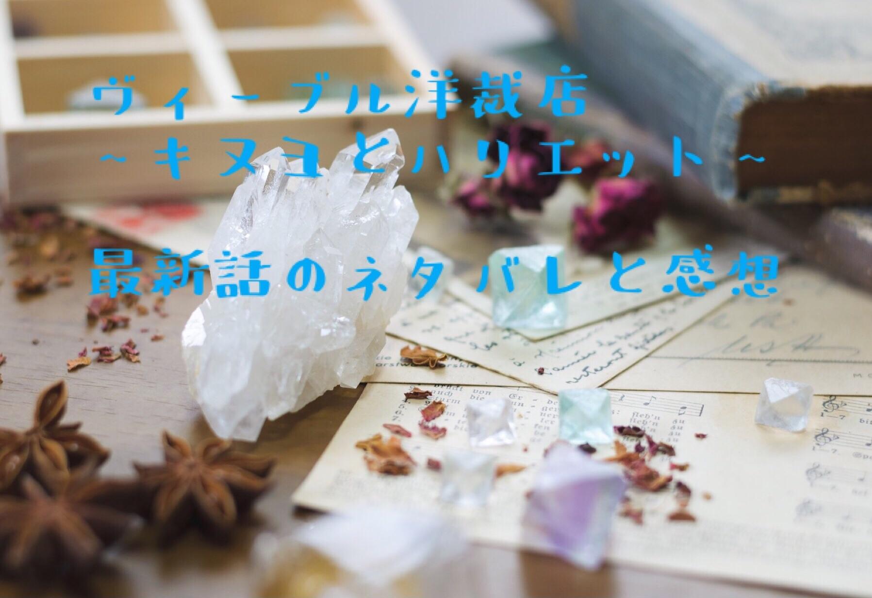 ヴィーヴル洋裁店~キヌヨとハリエット~第4話 最新話のネタバレと感想!